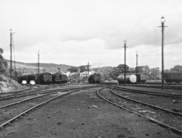 Carnforth MPD, 6th June 1968