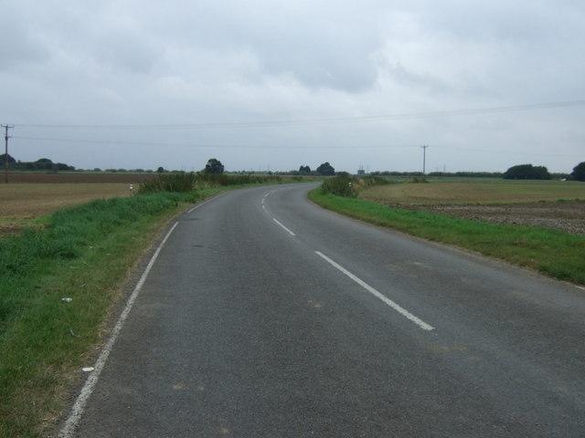 Minor road towards east Butterwick