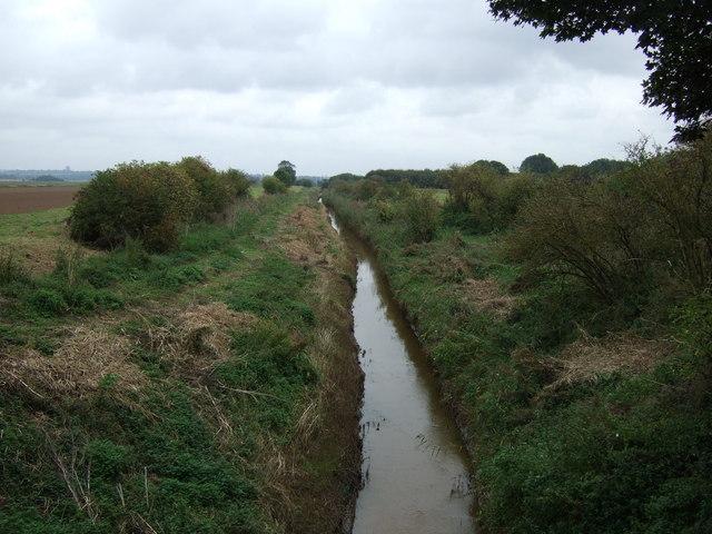 Drain near Burringham