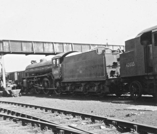 Locos at Carnforth Jun 1968
