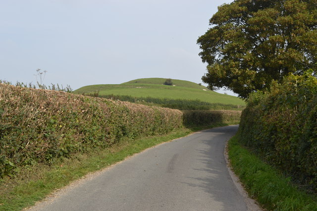 Motte and bailey on Castle Hill