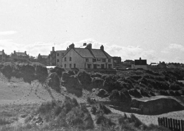 Bay Hotel, Rhosneigr, from the dunes