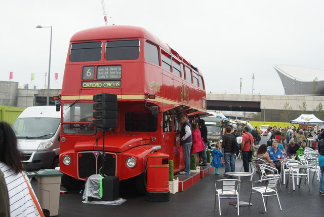 View of the Routemaster Bus Bar from the Classic Car Boot Sale #2