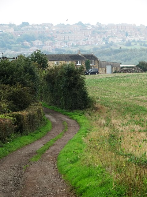 View towards Barrow Farm from Worsbrough