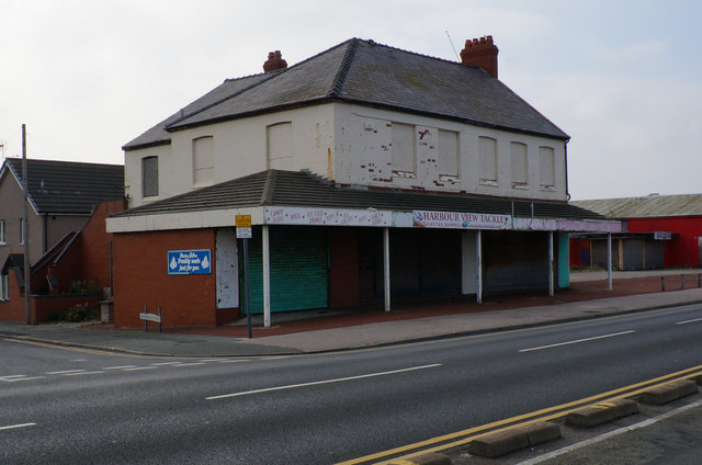 The former Harbour View Tackle Shop