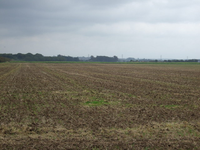 Farmland east of Carr Dyke Road