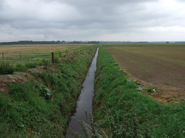 Drain off Carr Dyke Road