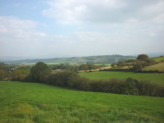 Countryside west of Gressingham