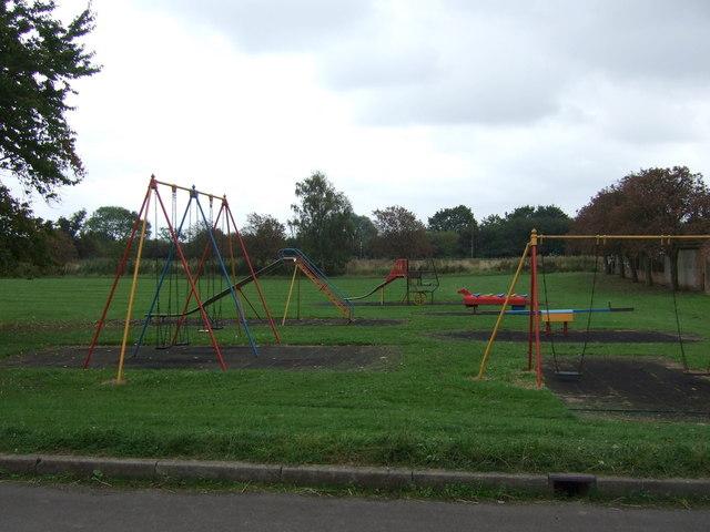 Children's playground, East Butterwick