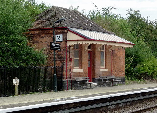 Waiting Room at Wilmcote Station, Warwickshire