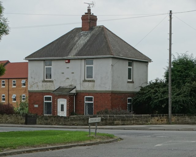 House by the crossroads in Wombwell