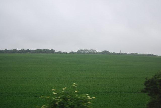Farmland south of Knebworth