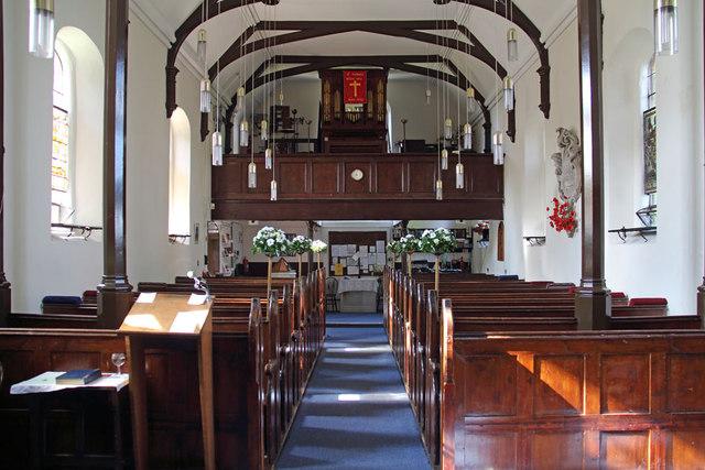 St Thomas, Church Lane, Noak Hill, Havering - West end