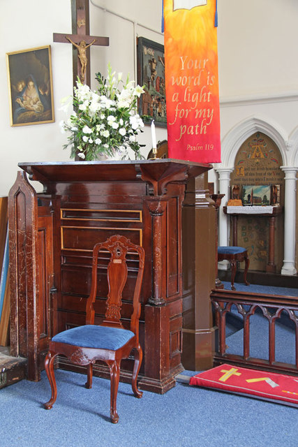 St Thomas, Church Lane, Noak Hill, Havering - Pulpit