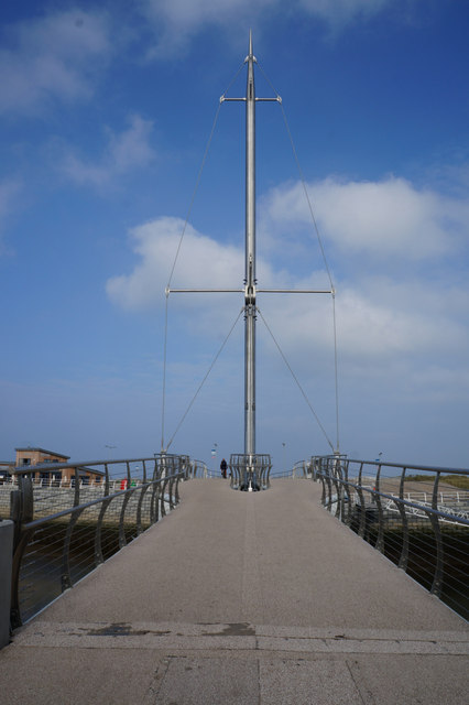 Pont y Ddraig (bridge) Rhyl
