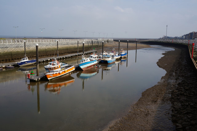 Boats on the River Clwyd, Rhyl