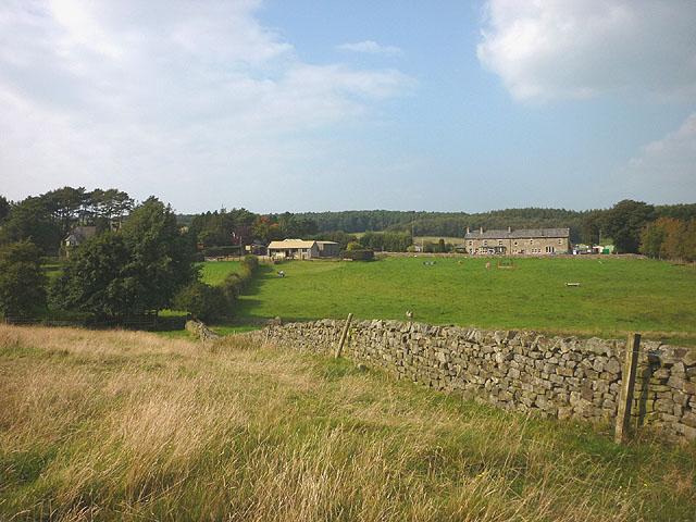 Bridleway near the Red Well Inn