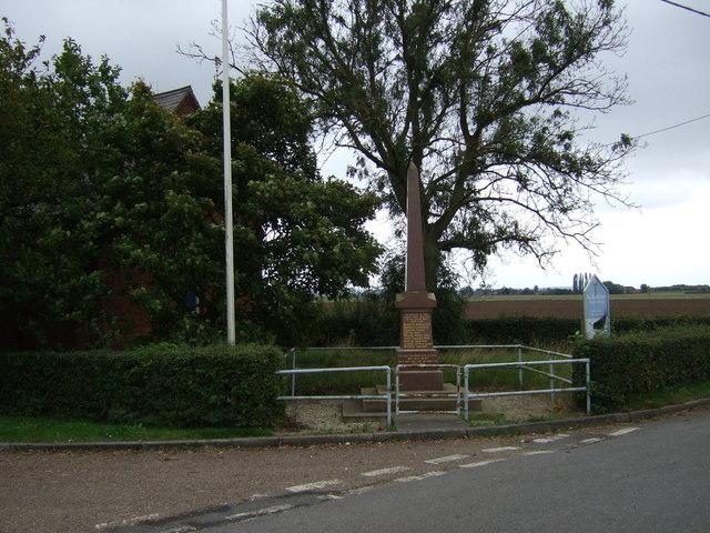 War Memorial, East Butterwick