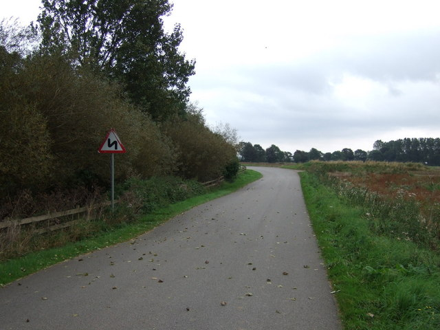 Bend in Butterwick Road
