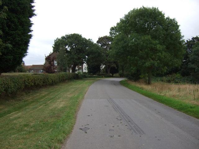 Butterwick Road near Highfield Farm