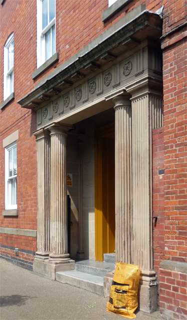 Detail of 11 Bridge Gate, Derby