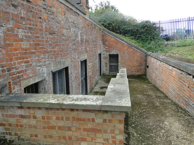 Ancillary rooms at the Left Battery
