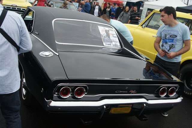 View of a Dodge Changer R/T from the Classic Car Boot Sale #2