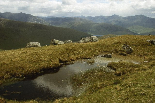 The ridge of Creag na Cathaig