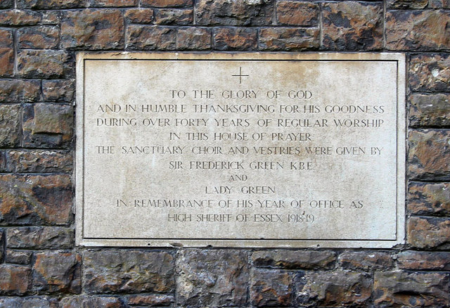 All Saints, Chigwell Row - Memorial