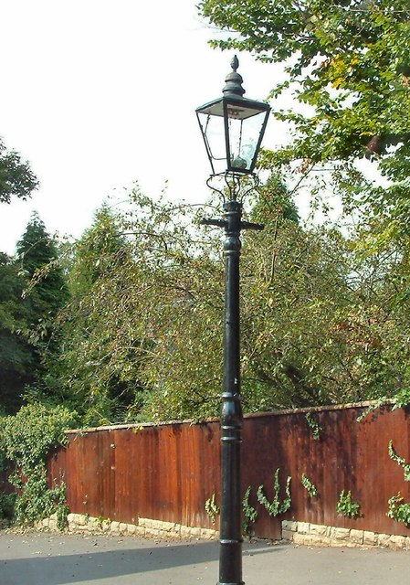 Lamp on Peveril Drive