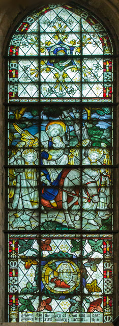 Stained glass window, Southwell Minster