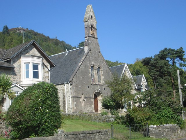 Old church at Tighnabruaich, now disused