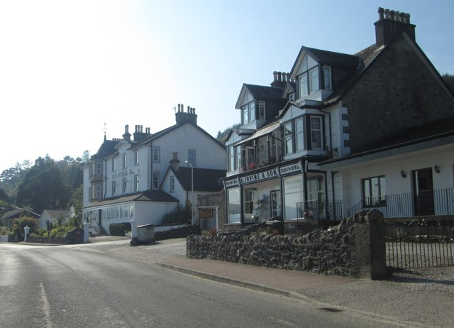 The Royal Hotel in Tighnabruaixh