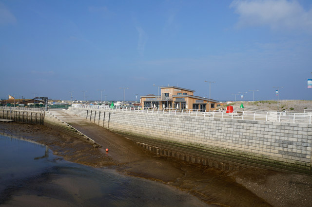 Slipway on the River Clwyd