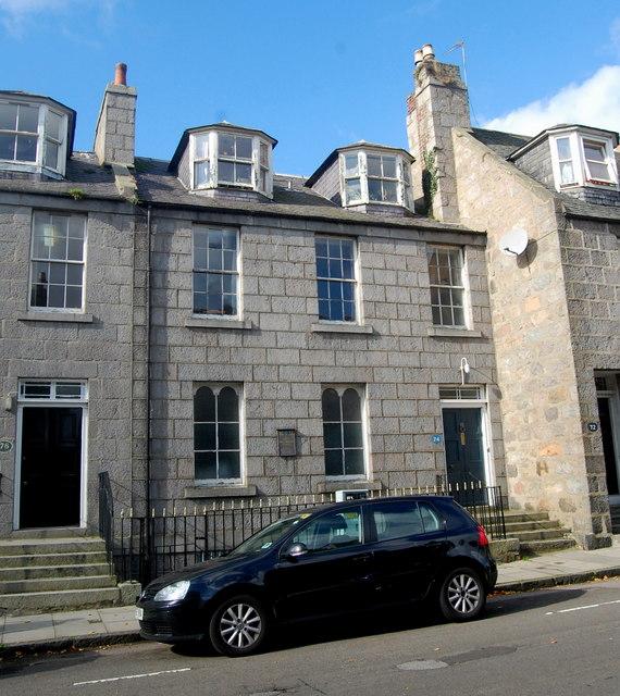 Aberdeen Synagogue, Dee Street, Aberdeen