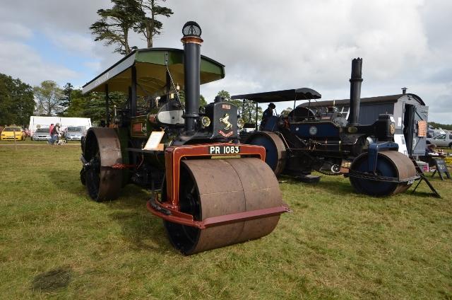 Aveling & Porter Steam Roller no. 10695