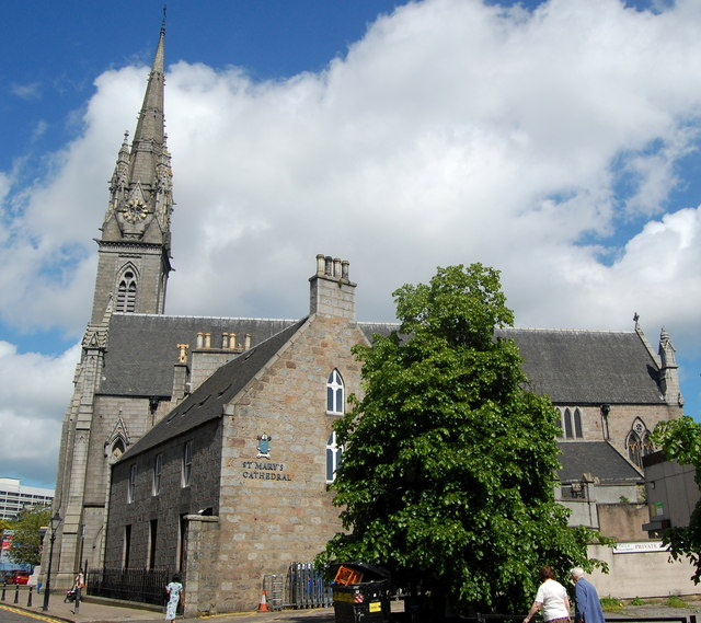 St Mary's RC Cathedral, Huntly Street, Aberdeen