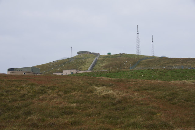The summit of Saxa Vord without the radome