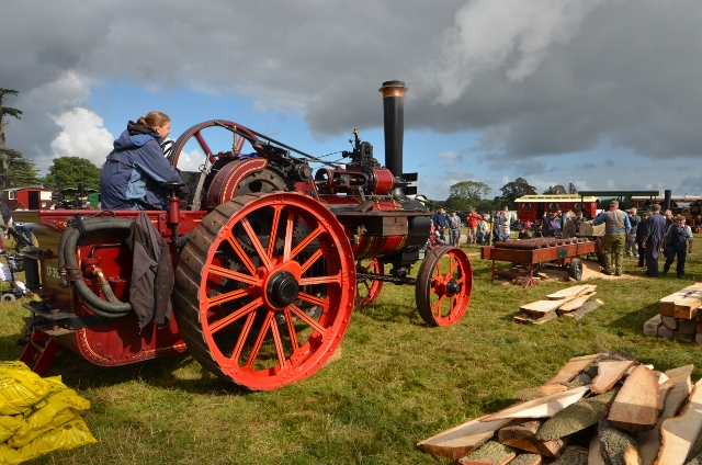 Saw mill at Henham Steam Fair