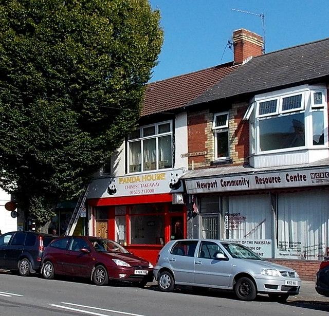 Panda House Chinese takeaway, Newport