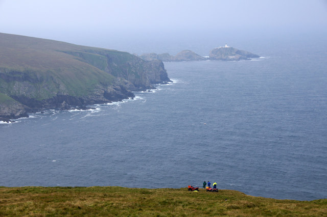 View from Saxa Vord to Muckle Flugga