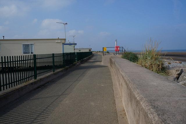 Wales  Coast Path towards Kinmel Bay