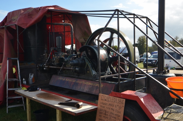 Ruston and Hornsby Engine
