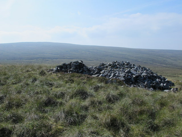 Rock outcrop on the Tindale Fells (2)