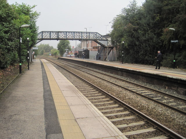 Oakengates railway station, Shropshire