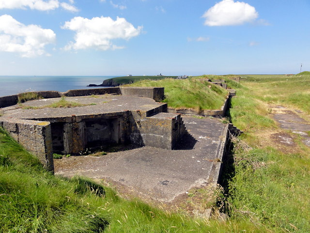 Gun Emplacements at West Blockhouse Battery