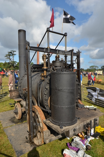 Richard Trevithick's Puffing Devil (Replica)