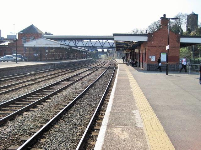 Wellington railway station, Shropshire