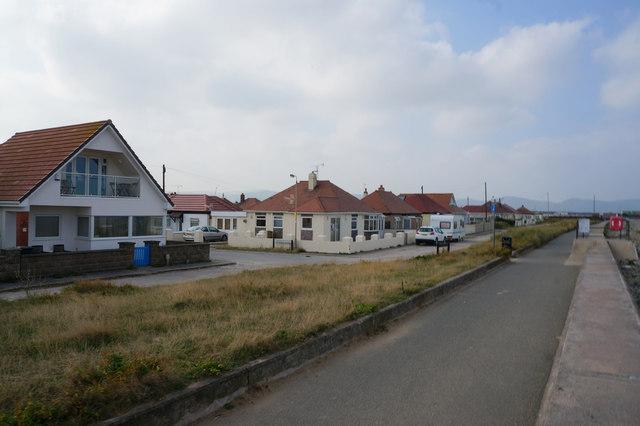 Houses on The Promenade, Kinmel Bay