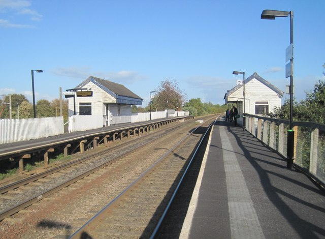 Cosford railway station, Shropshire